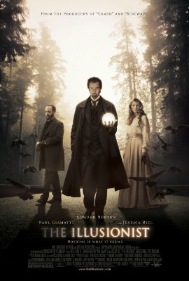 The Illusionist Movie Poster