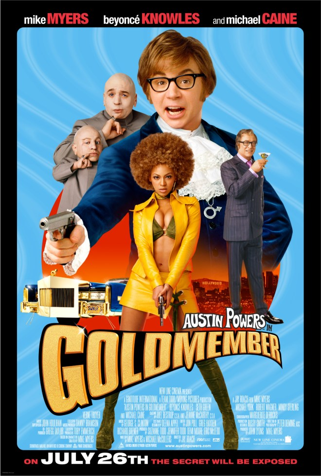 Austin Powers in Goldmember Movie Poster